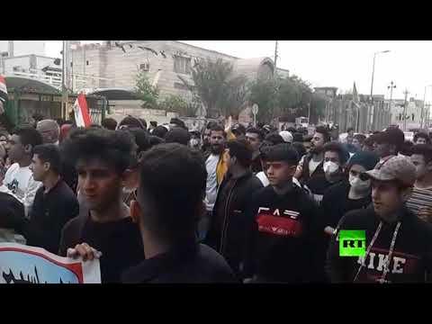 شاهد مسيرات حاشدة في العراق بمناسبة عيد المرأة العالمي