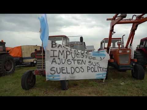 شاهد إضراب المزارعين في الأرجنتين بسبب المحصول الرئيسي في البلاد