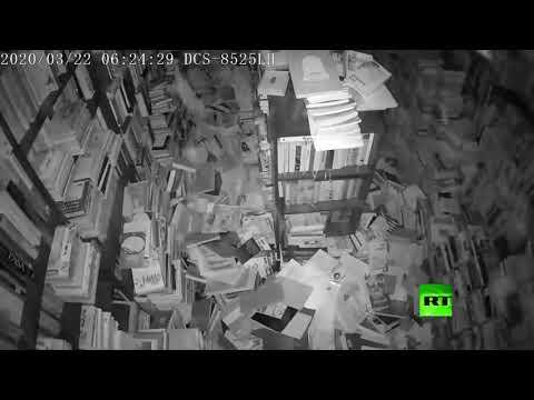 شاهد لحظة وقوع زلزال في عاصمة كرواتيا