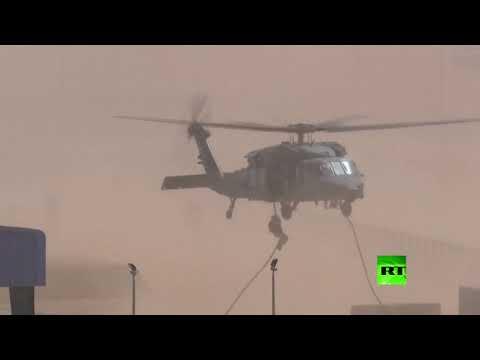 مناورات عسكرية مشتركة لقوات المارينز الأميركية والجيش الإماراتي