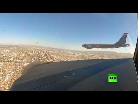 شاهد عروض جوية لطائرات عسكرية في سماء مدن أميركية