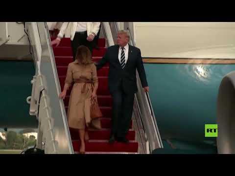 شاهد ميلانيا ترامب تمتنع عن ملامسة يد زوجها في لقطة جديدة