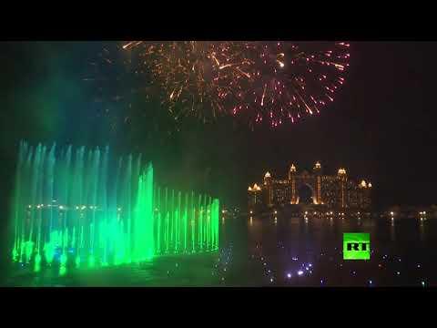 شاهد الإمارات تُحطم رقمًا قياسيًا جديدًا بأكبر نافورة في العالم