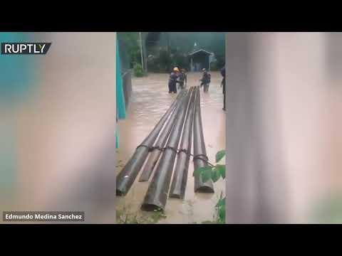 الفيضانات تجتاح نيكاراغوا بعد إعصار جديد ضرب البلاد