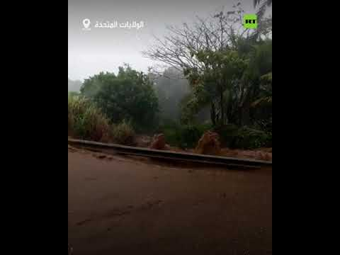 شاهد سكان هاواي يغادرون منازلهم وأعمالهم